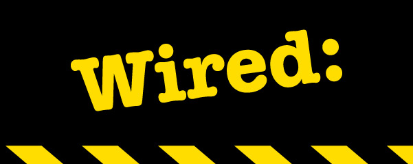 Wired Podcasts Logo